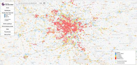 NetPublic » Quels sont les DÉBITS Internet dans votre commune : Outil en ligne cartographique | Machines Pensantes | Scoop.it