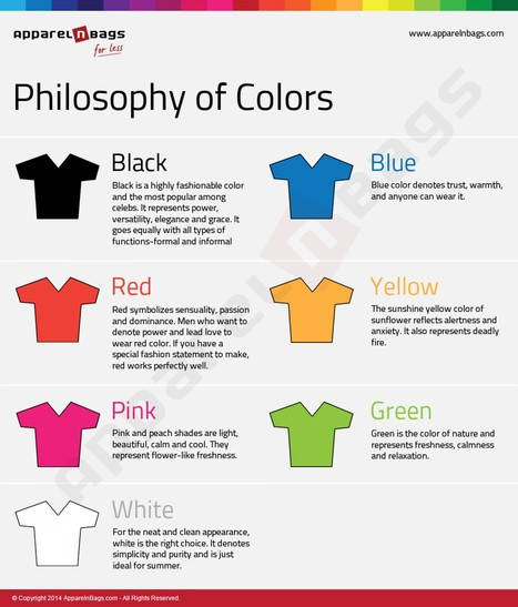 Philosophy of Colors! | Better teaching, more learning | Scoop.it