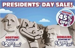 Hostgator coupon code: 45% off all New Hosting in Presidents' Day   Lee's Coupon   GoDaddy promo coupon codes for domain, hosting or renewal, never expires   Scoop.it
