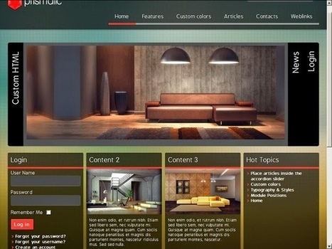 Education-Ecole : Template Joomla 3.X | Template Joomla | Scoop.it