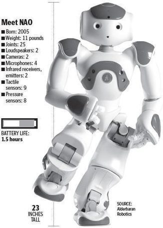 NAO Works With Autistic Children - I Programmer | Autism: Teaching Techniques and Activities | Scoop.it