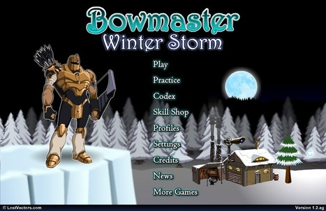 Ryan's Game Ryviews: Bowmaster Winter Storm --- Flash Ryview | Ryan's Game Ryviews | Scoop.it