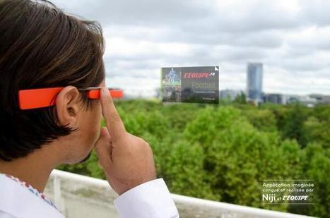 L'Equipe propose une application google glass | EVENTS, SPORT & SPONSORING | Scoop.it