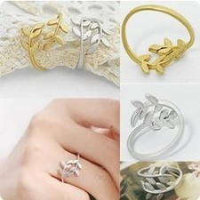 Cheap Simple Lovely Leaf Rings Jewelry Online SP0207 | fashion and cheap jewelry | Scoop.it
