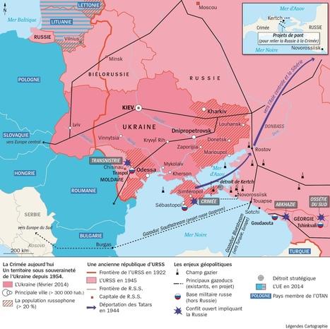 Carte : La Crimée est-elle russe ? (L'Histoire) | géographie des conflits | Scoop.it