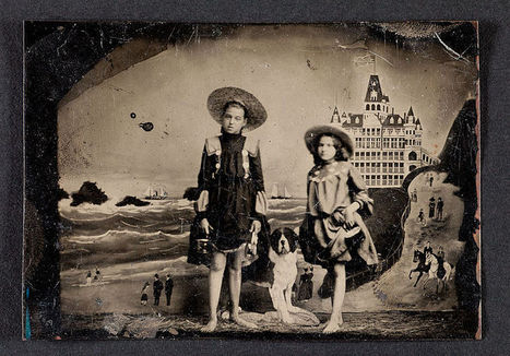 Little Penny Dreadful, This is a tintype photographic portrait of two... | photography | Scoop.it