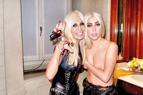 Oops le sein sexy de Lady Gaga avec Donatella Versace ! - photo | Radio Planète-Eléa | Scoop.it