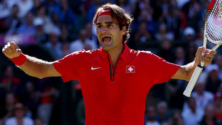 #London2012 Federer survives marathon to keep gold dream alive e faces Murray in final | Le It e Amo ✪ | Scoop.it