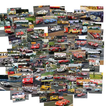 Le Mans Slot Racing, Scalextric, 24 heures du Mans et circuits de voitures miniatures | OBJETS VINTAGE | Scoop.it