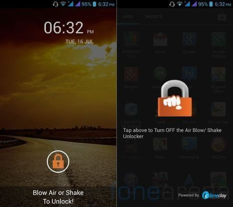 Get the Blow to Unlock app of Canvas 4 on any Android Smartphone | Tweaks | Scoop.it