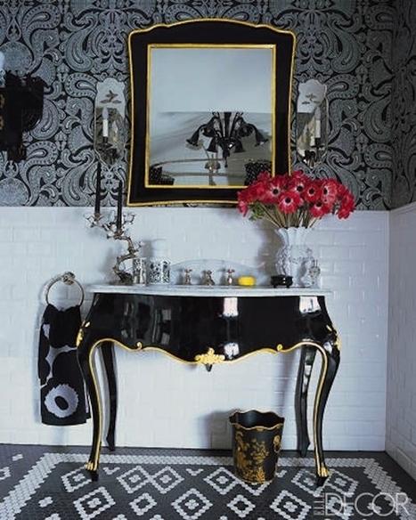 13 Insanely Fabulous Fashion Designer Homes | GirlyGlamHome | Scoop.it