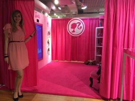 France : Une cabine d'essayage virtuelle Barbie aux Galeries Lafayette - Ooh-tv | Chambon consulting | Scoop.it