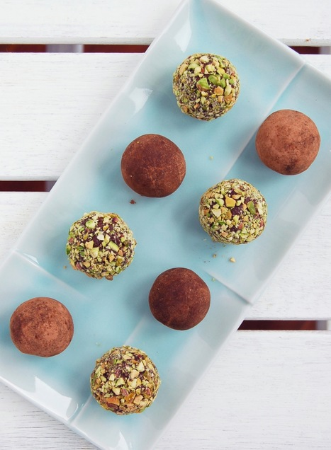 Healthy Raw Chocolate Truffles | Mari Jasmine | Everything Chocolate | Scoop.it