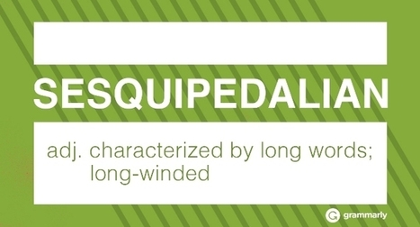 14 of the Longest Words in English | ELT (mostly) Articles Worth Reading | Scoop.it