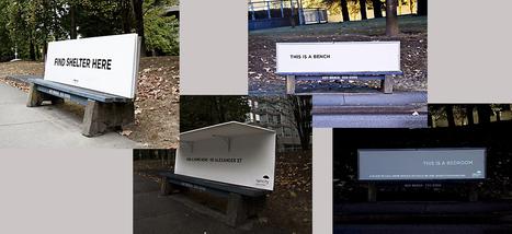 Vous connaissiez le mobilier urbain anti-SDF? Voici l'inverse | Innovation urbaine, ville créative | Scoop.it