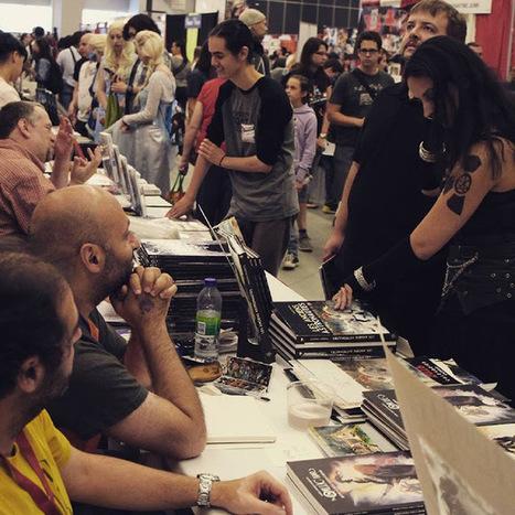 La guerre des Gaules: La Guerre des Gaules au Comic Con de Montréal : en compagnie d'étranges guerriers... | La Guerre des Gaules en BD | Scoop.it