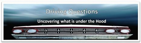 Driving Question to Facilitate Student Inquiry and Common Core... My Post From PBL World In Napa, CA | Blended Learning: Mixing Methods and Delivery | Scoop.it