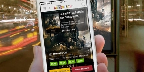 Gaumont Pathé booste ses ventes mobile grâce à son appli #mobile2store   Digital et Expérience client omnicanal   Scoop.it