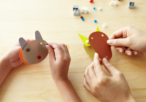 LEGO bricks + paper toys by muji | DigitAG& journal | Scoop.it