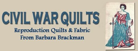 Civil War Quilts: Threads of Memory 3: New Garden Star for Catherine White Coffin | Quilts-CivilWar | Scoop.it