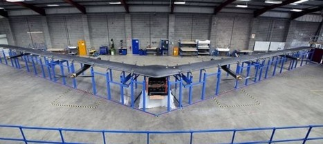 La construction du drone Facebook, Aquila, est achevée | Startup et innovation | Scoop.it