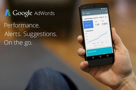 Google lance une application mobile pour Adwords - #Arobasenet | Emarketing And Co | Scoop.it