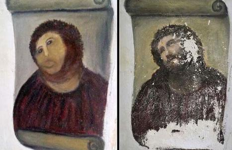 Christ de Borja: La pire restauratrice de l'histoire réclame son dû | Mais n'importe quoi ! | Scoop.it