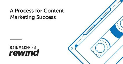 A Process for Content Marketing Success | Rainmaker.FM | Entrepreneurial Passion | Scoop.it