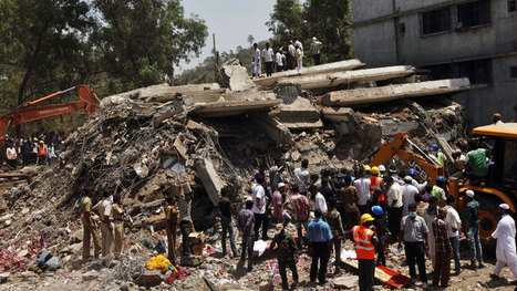 Building collapse in India kills at least 11 kids, 30 others - World - CBC News | Construction Crisis Management | Scoop.it