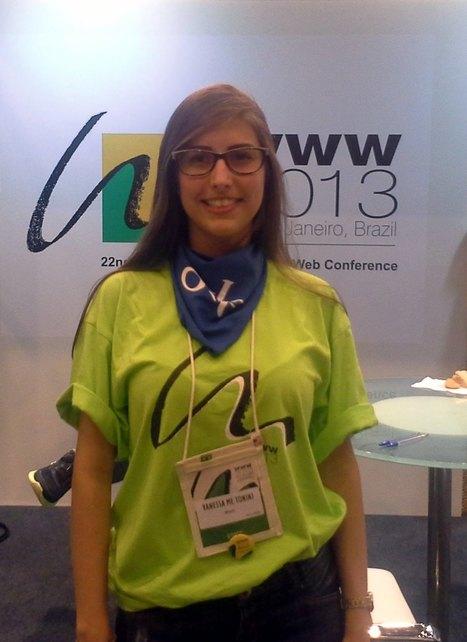Cobertura WWW2013 – Conversando com Vanessa Tonini -   WWW2013 Conference   Scoop.it