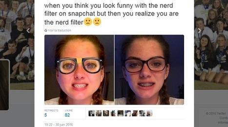 Un filtre Snapchat, jugé trop réaliste, ne fait pas rire tous les ados américains   La Boîte à Idées d'A3CV   Scoop.it
