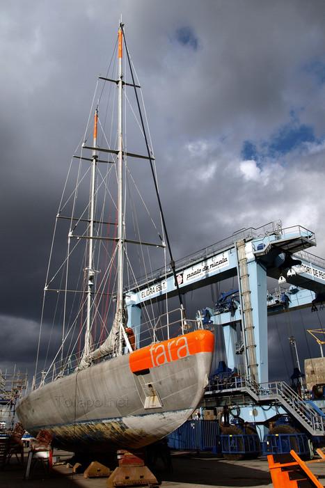 Tara — FVNM — position and weather sur Sailwx | Hurtigruten Arctique Antarctique | Scoop.it