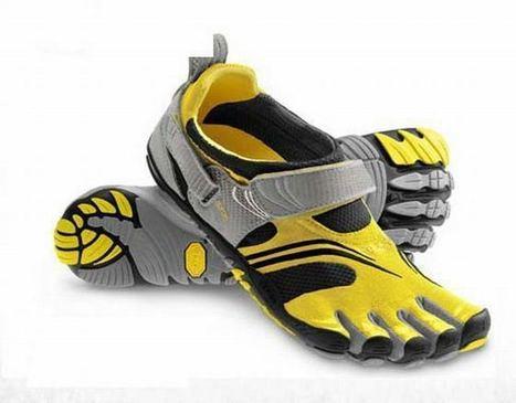 Vibram Five Fingers Komodosport Yellow/Black/Silver/grey Men' | new and fashion list | Scoop.it