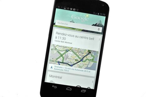 Google Now ou l'ébauche d'un système de notification contextuel | Solution numériques pour les touristes | Scoop.it
