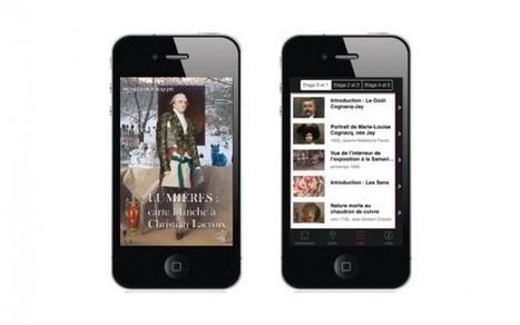 Clic France / Pour sa réouverture, le musée Cognacq-Jay lance sa première application mobile et déploie le iBeacon | L'actu culturelle | Scoop.it