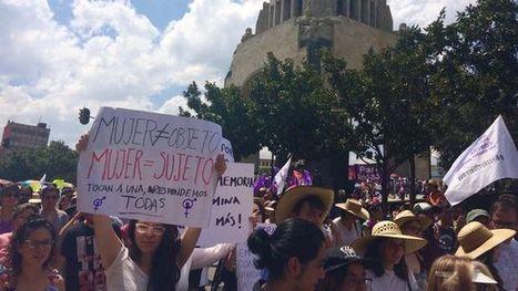 Audio RTS 4 mn : Les Mexicaines brisent le tabou du harcèlement et des agressions sexuelles #MiPrimerAcoso #Mexico | Infos en français | Scoop.it