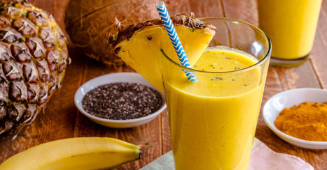 Turmeric Smoothie Recipe For Overall Health | Fitness, Health, Running and Weight loss | Scoop.it