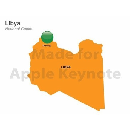 Map of Libya for iPad Keynote Apps Store | Apple Keynote Slides For Sale | Scoop.it