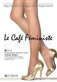 CAFÉ FÉMINISTE - L' Ours Marin - La cerise sur le ghetto... | femmes à Bordeaux | Scoop.it
