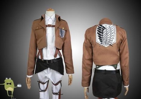 Survey Corps Uniform Attack on Titan Cosplay Costume | Attack on Titan Cosplay Costumes | Scoop.it
