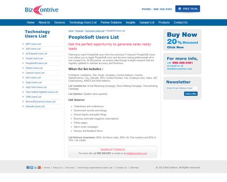 PeopleSoft Users List | Bizcontrive | Scoop.it