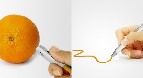 16 million color pen can match its ink to the shade of any real world object | TRIZ et Innovation | Scoop.it