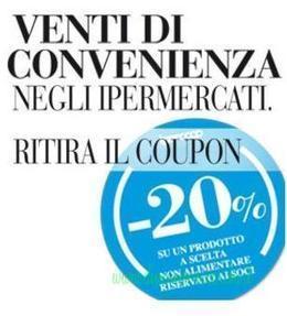 Buono sconto 20% da Coop Adriatica – Ritira il coupon | Coupon, Buoni Sconto, spesa e benzina. Promozione varie | Scoop.it