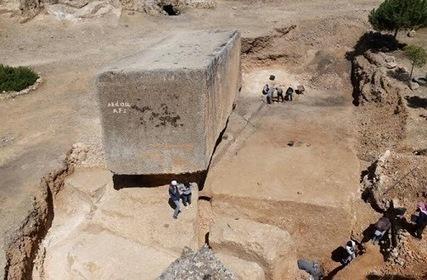 Découverte du plus grand bloc de pierre taillé datant de l'Antiquité | Les découvertes archéologiques | L'histoire sur la toile | Scoop.it
