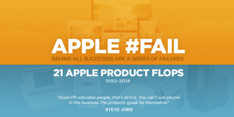 Apples Biggest Failures And The Lessons Learned From Them | Vloasis sci-tech | Scoop.it