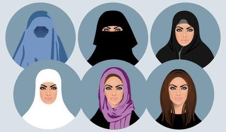 Valkoinen, kevyt päähine on hyväksytyin musliminaisen asuste | Uskonto | Scoop.it