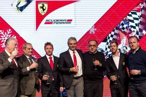 MARCHIONNE: IMPORTANT WE WIN THE FIRST RACE OF 2016 | F 1 | Scoop.it