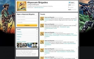 Israel y Hamas también luchan en las redes sociales | Cosas que interesan...a cualquier edad. | Scoop.it