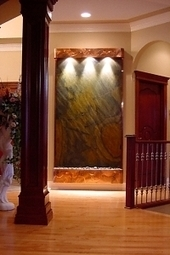 Exalted Fountains | Waterfalls | The Beauty Of Indoor Wall Fountains | Scoop.it