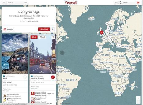 Comment tirer profit des rich pins de Pinterest dans le secteur du voyage | Médias sociaux : actualités et pépites du web | Scoop.it